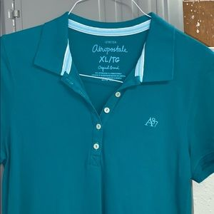 Aeropostale Blue Collared Shirt